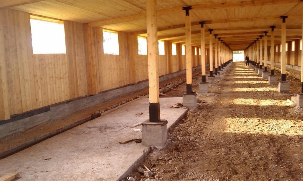 Batiment agricole maison en bois for Construire un batiment en bois